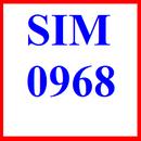 Tp. Hà Nội: sim 0968, số đẹp 0968, sim số 0968, số 0968, sim viettel 0968, đầu số 0968 CL1194037
