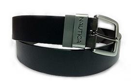 Dây lưng Nautica Men's Reversible Belt Black/ Brown 34 06-4299-12 Mua hàng Mỹ