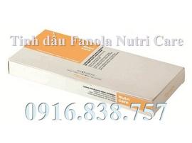 Dưỡng tóc và phục hồi tóc hư với ống tinh dầu Fanola Nutri Care
