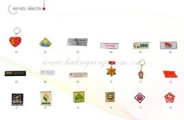 Công ty chuyên sản xuất biển tên nhân viên, huy hiệu, kỷ niệm chương giá rẻ