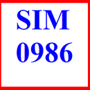 Tp. Hồ Chí Minh: sim 0986, sim số 0986, số 0986, số đẹp 0986, sim viettel 0986, sim đẹp 0986 CL1194037