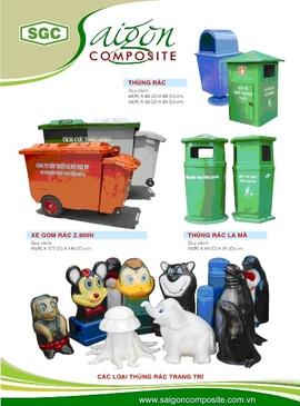 Cung cấp thùng rác toàn quốc - Ms. Nhị Hương 0902824099