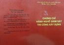Tp. Hồ Chí Minh: Chứng chỉ hành nghề giám sát thiết kế công trình giao thông, thủy lợi thủy điện CL1160457