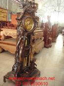 Bắc Ninh: Đồng hồ đứng thiên thần gỗ mun máy điện tủ ĐH15 CL1175289P11