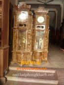 Bắc Ninh: Đồng hồ đứng gỗ Nu máy điện tủ ĐH16 CL1175289P11