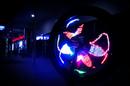 Hà Nam: Độ LED bánh xe, hiển thị hình ảnh nhiều màu sắc trên bánh xe CL1218298