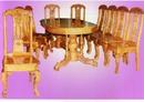 Bắc Ninh: Bộ bàn ghế phòng ăn Bầu dục 10 món BA 06-10 CL1161088