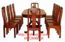 Bắc Ninh: Bộ bàn ăn Bầu dục 11 món BA 07-11 CL1161092