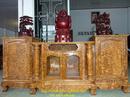Bắc Ninh: Kệ ti vi – Tủ ti vi cột nho sóc gỗ Nu nghiến TVN3 CL1161092
