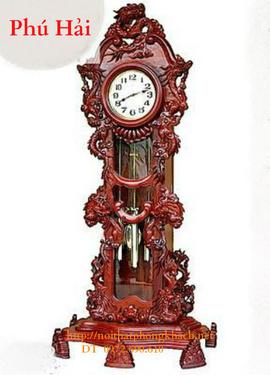 Đồng hồ cây Cửu Rồng máy điện tủ ĐH26