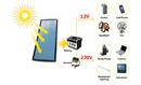 Tp. Hà Nội: Bộ phát điện năng lượng mặt trời mini (Solar Kit) cho mọi nhà. CL1169582