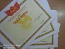 Tp. Hà Nội: sản xuất phôi giấy khen, in ấn các loại giấy khen, phôi chứng nhận, bằng khen CL1162629