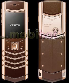 Điện thoại Vertu Signature S Pure Chocolate Rose gold Màu đồng sịn