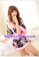 Tp. Hồ Chí Minh: Đầm ngủ kimono hoa dịu nhẹ - DCK135 CL1164499