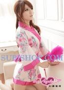 Tp. Hồ Chí Minh: Đầm ngủ kimono in hoa dịu dàng - DCK112 CL1164499