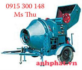Máy trộn JZC 350 lít, lắp động cơ điện 5. 5kw/ 380V