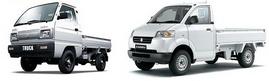 Xe tải Vinaxuki 650kg - Suzuki 650kg - 750Kg sẵn thùng kín, bạt, lửng, trả góp