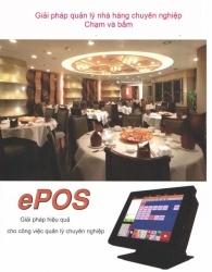 Tân Phát phân phối máy tính tiền cảm ứng Epos!