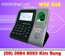 Tp. Hồ Chí Minh: Máy chấm công vân tay WSE 268 hàng mới giá cạnh tranh-lh kim sung 0916 986 800 CL1164772