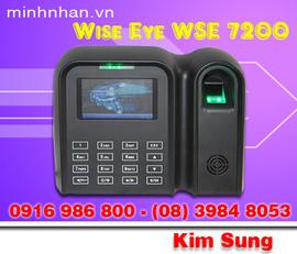 Máy chấm công wse 7200 vừa vân tay vừa thẻ-công nghệ mới-lh kim sung 0916 986800