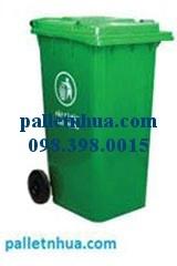 Thungrac HDPE, Thùng chứa rác hdpe từ 55l, 95l, 120l, 240l, 660l…