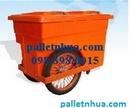 Tp. Hồ Chí Minh: Thùng rác nhựa 2 bánh xe( xe gom rác) CL1164739