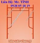 Tp. Hồ Chí Minh: giá giàn giáo, cây chống, kích tăng, coppha, mâm, cùm xoay - dàn giáo vĩnh lợi CL1165613
