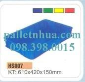 Pallet nhựa: sóng nhựa đặc, hộp nhựa đan lưới