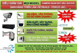 Khuyến mãi suýt lỗ Camera quan sát; Báo động chống trộm; Chuông hình cùng ITEKCO