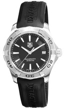 Tp. Hồ Chí Minh: Đồng hồ chính hãng TAG Heuer Men's WAP1110. FT6029 Aquaracer Black Dial Watch. CL1166985P1