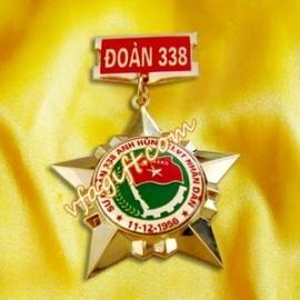 Thiết kế sản xuất huy hiệu cài áo, huy chương cài áo, kỷ niệm chương đồng cài áo