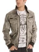 Tp. Hồ Chí Minh: Áo khoác Nam Guess Jacket, Faux Leather Hooded Jacket, mua hàng Mỹ tại e24h CL1163631