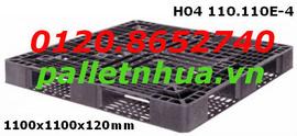 Pallet nhựa mới HO4 110.110E-4