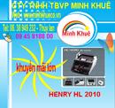 Tiền Giang: Máy đếm tiền henry HL-2010 UV CL1170382