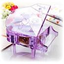 Tp. Hồ Chí Minh: Hộp nhạc piano pha lê nguyên khối, hộp nhạc quay tay, hộp nhạc gỗ sồi, trái tim. CL1178548P3