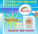 Bà Rịa-Vũng Tàu: máy chấm công thẻ giấy SEIKO QR 6560 01678557161 CL1175103P11