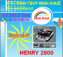 Bình Dương: Máy đếm tiền henry hl-2800 UV giá ưu đãi CL1173798P3