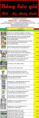 Tp. Hồ Chí Minh: Hũ Thủy Tinh, Bình Thủy Tinh - Bảng báo giá CL1175139