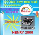 Bà Rịa-Vũng Tàu: Máy đếm tiền henry hl -2800 UV giá ưu đãi tại minh khuê CL1211056P21