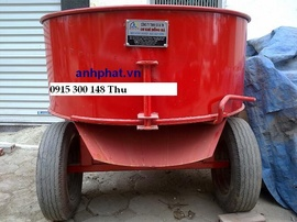 Máy trộn vữa 250L, máy trộn