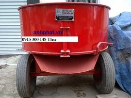 Máy trộn vữa cưỡng bức 250 lít Động cơ 4kw việt nam