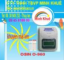 Bà Rịa-Vũng Tàu: Máy chấm công thẻ giấy osin o 960P khuyến mãi 300 thẻ tại minh khuê CL1177218