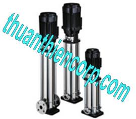 Máy bơm nước trục đứng Ebara cấp nước sạch cho khu công nghiệp, khu đô thị, trun