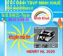 Bà Rịa-Vũng Tàu: bán Máy đếm tiền henry hl -2020 UV giá ưu đãi lớn tại minh khuê 0938763432 CL1178224