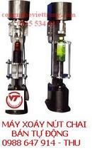 Tp. Hà Nội: máy xoáy nắp chai bán tự động, tự đọng, máy chiết rót, máy đóng nắp, máy rửa CL1178455