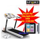 Tp. Hà Nội: Máy chạy bộ điện MHT 410 tặng ngay 1 ipod 16gb khuyến mại hấp dẫn CL1136510