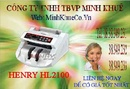 Bà Rịa-Vũng Tàu: minh khuê khuyến mãi Máy đếm tiền henry hl -2100 UV giá cực rẽ CL1211056P17