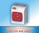 Bà Rịa-Vũng Tàu: bán Máy chấm công thẻ giấy wise eye 2600a/ d giá rẽ tặng thẻ và kệ tại minh khuê CL1180929
