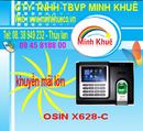 Bà Rịa-Vũng Tàu: bán Máy chấm công OSIN X628C +ID giá ưu đãi cuối năm vói nhiều quà tặng tại minh CL1180929