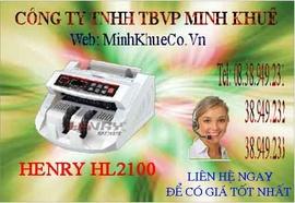 Máy đếm tiền henry hl -2100 UV giá cực rẽ 38949233